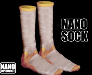 Ik presenteer u: de nano sok!