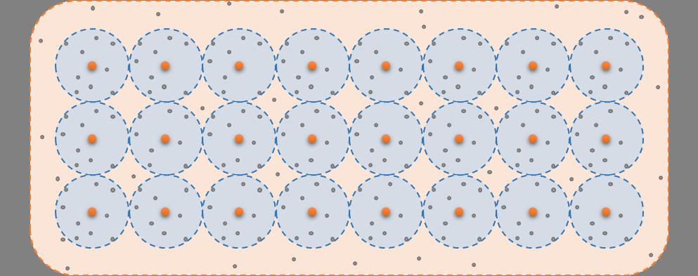 Wanneer een de atomen van een kristal hun electronen delen in een grote elektronenwolk is dat een geleider