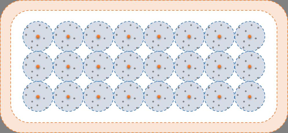 Een halfgeleider heeft ook een gedeelde elektronenwolk, maar die is leeg