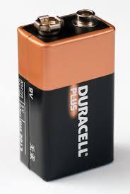 Zo'n batterij . Moet je maar eens tegen je tong aanhouden