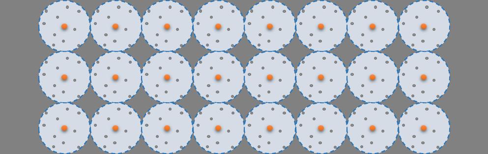 Een geordende stapeling van atomen heet een kristal