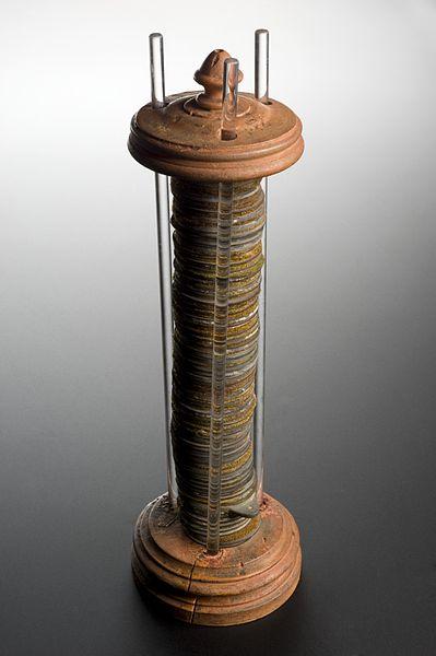 Zuil van Volta uit 1800