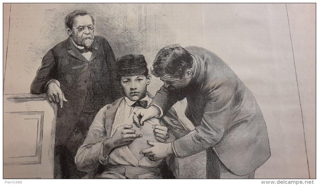 Monsieur Pasteur houdt een oogje in het zeil