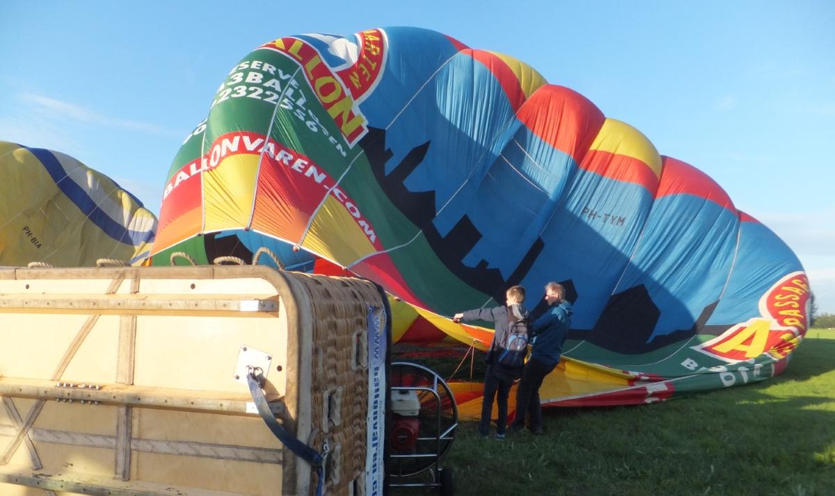 Dr. Hoofdwerker laat een ballonnetje op