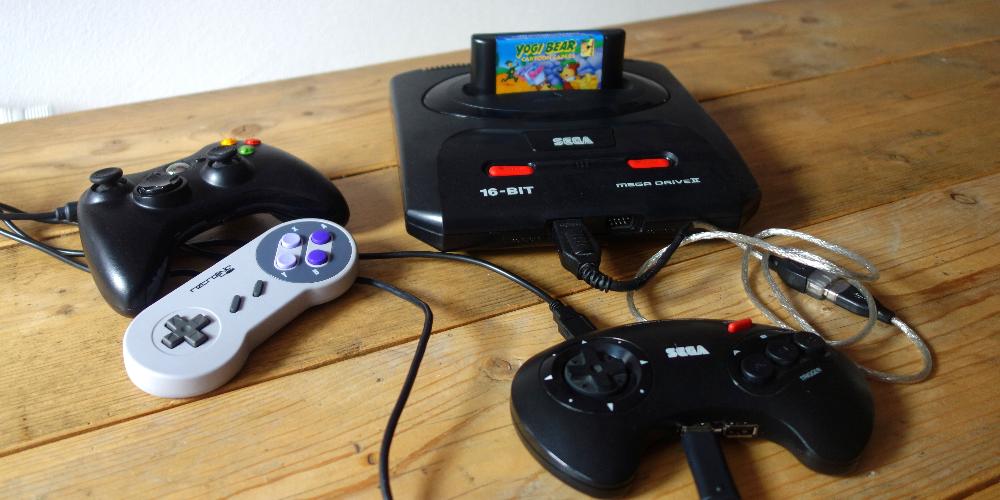 RetroPi in Sega Megadrive case