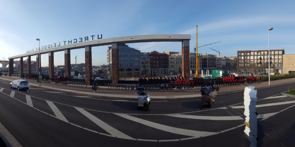 Timelapse Leidsche Rijn Centrum