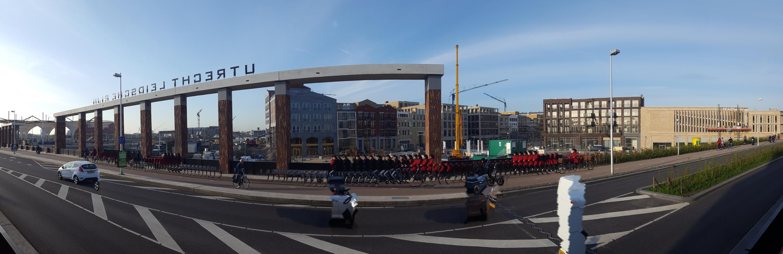 Timelapse bouw Leidsche Rijn Centrum