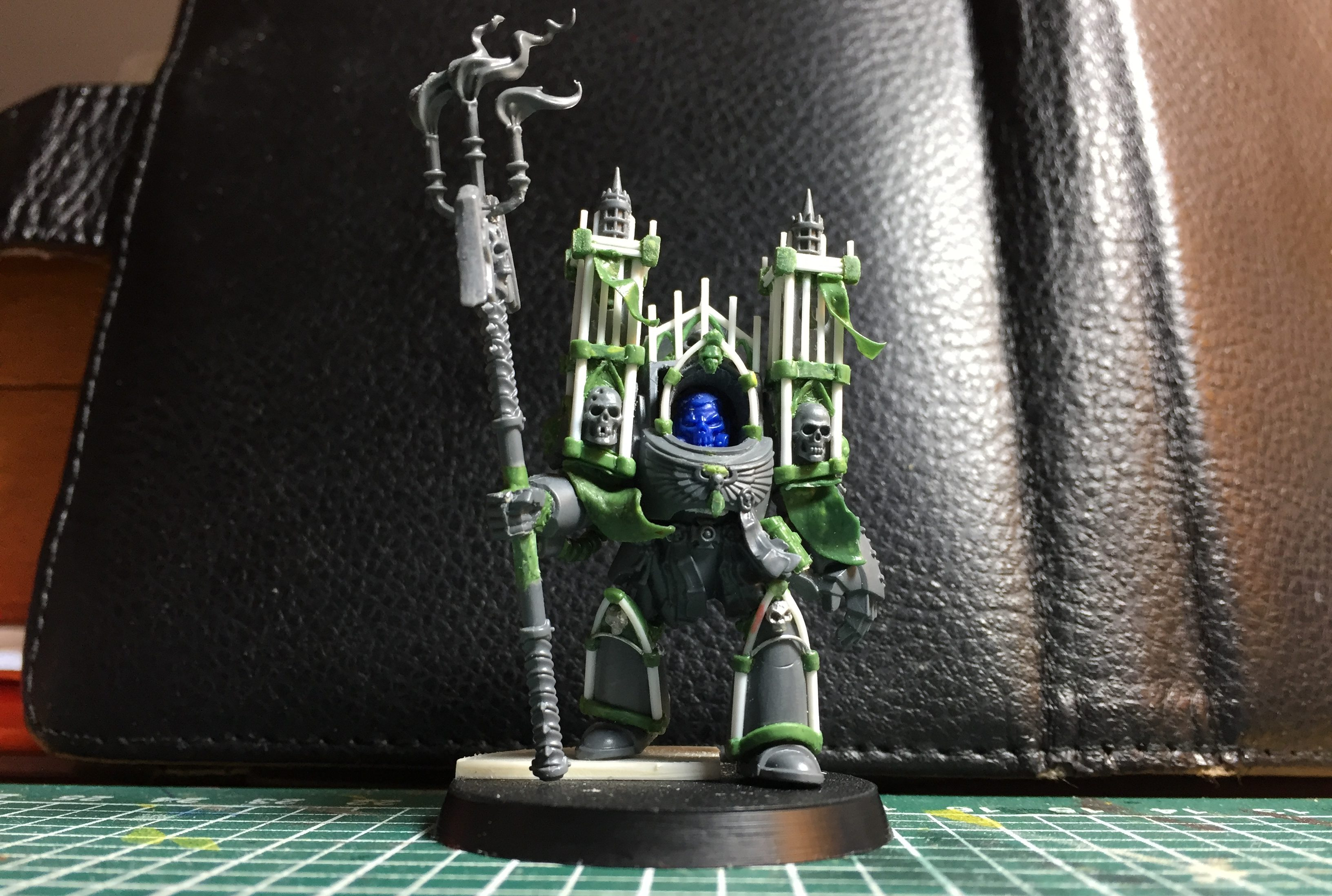 Terminator Chaplain Cathedral WIP
