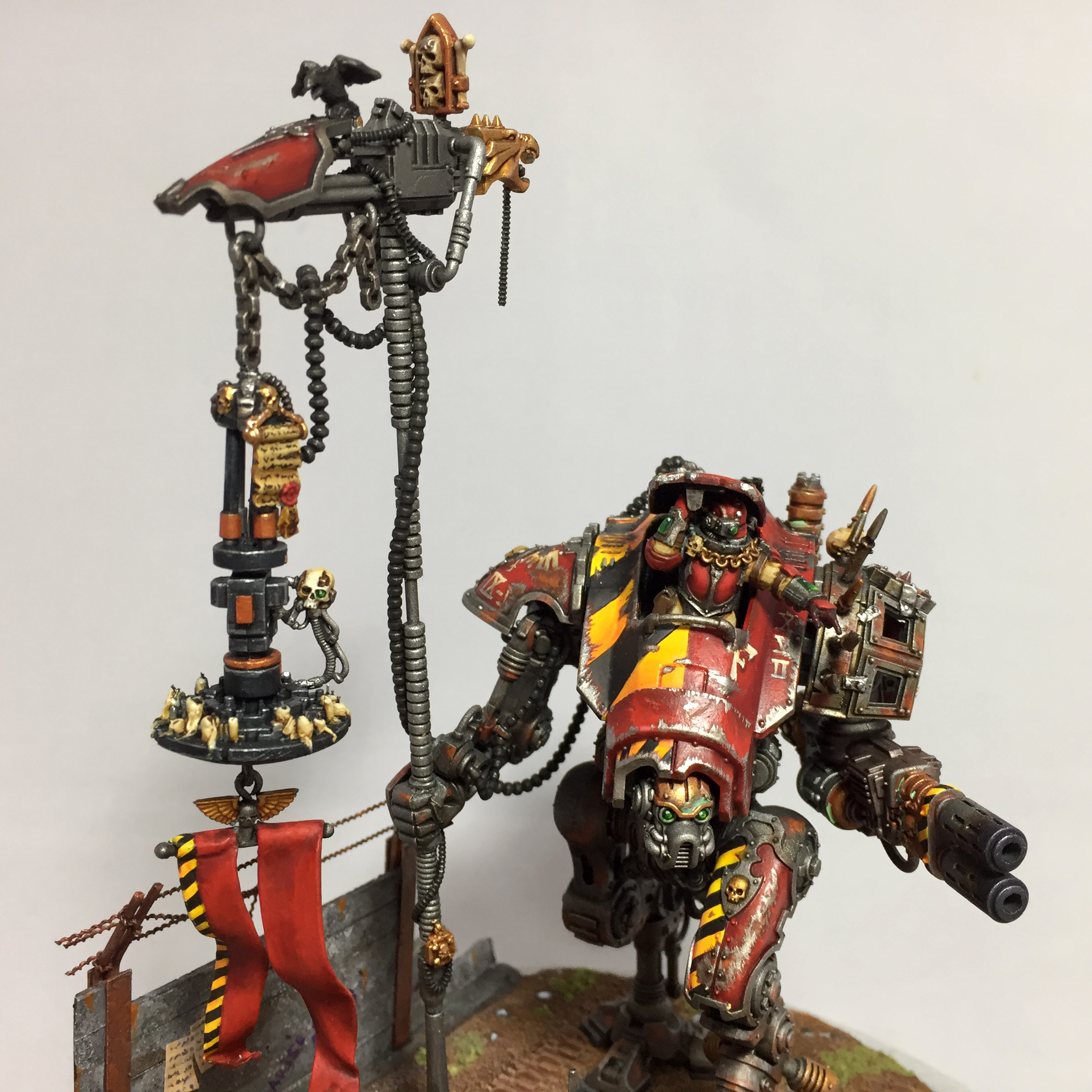 Converted Armiger Warglaive, display piece