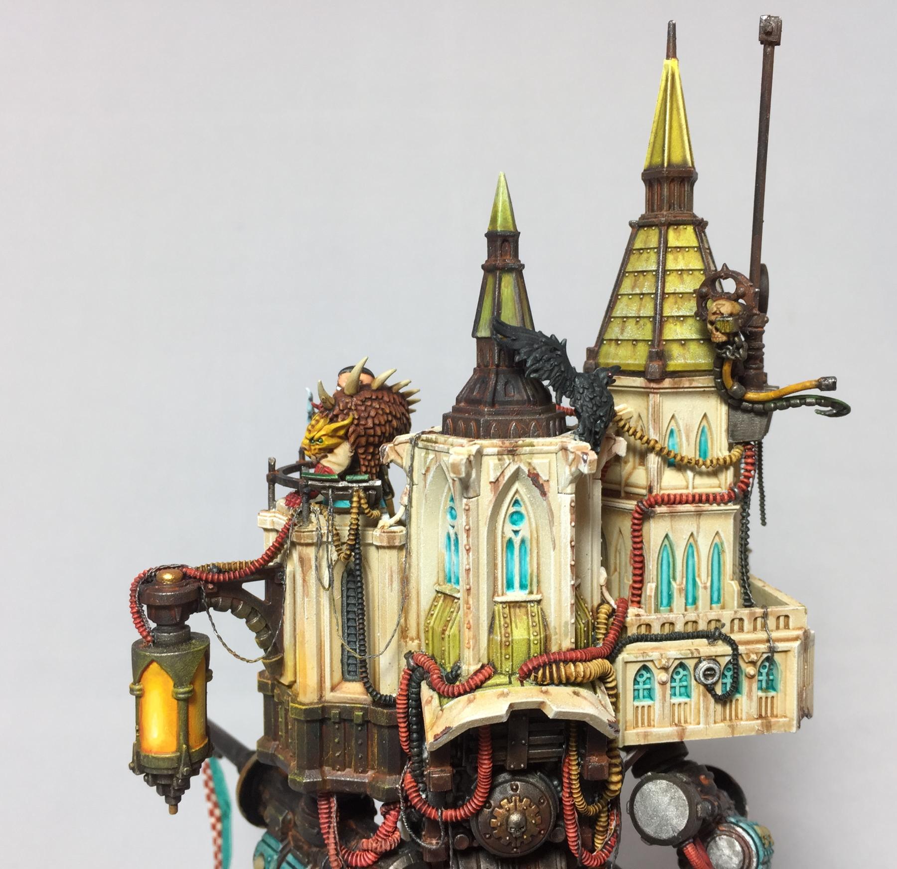 Detail shot of back