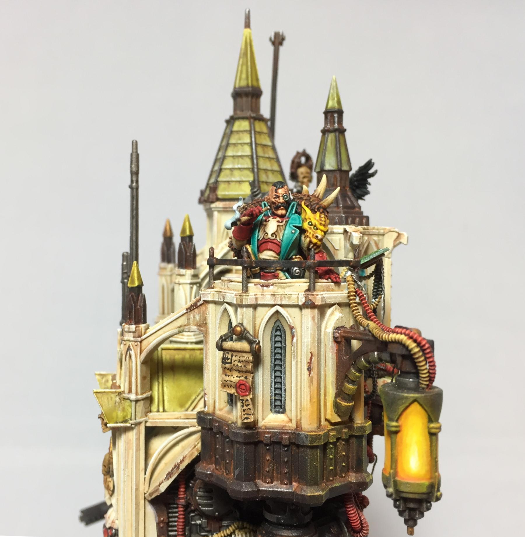 Detail shot of Rogue Trader
