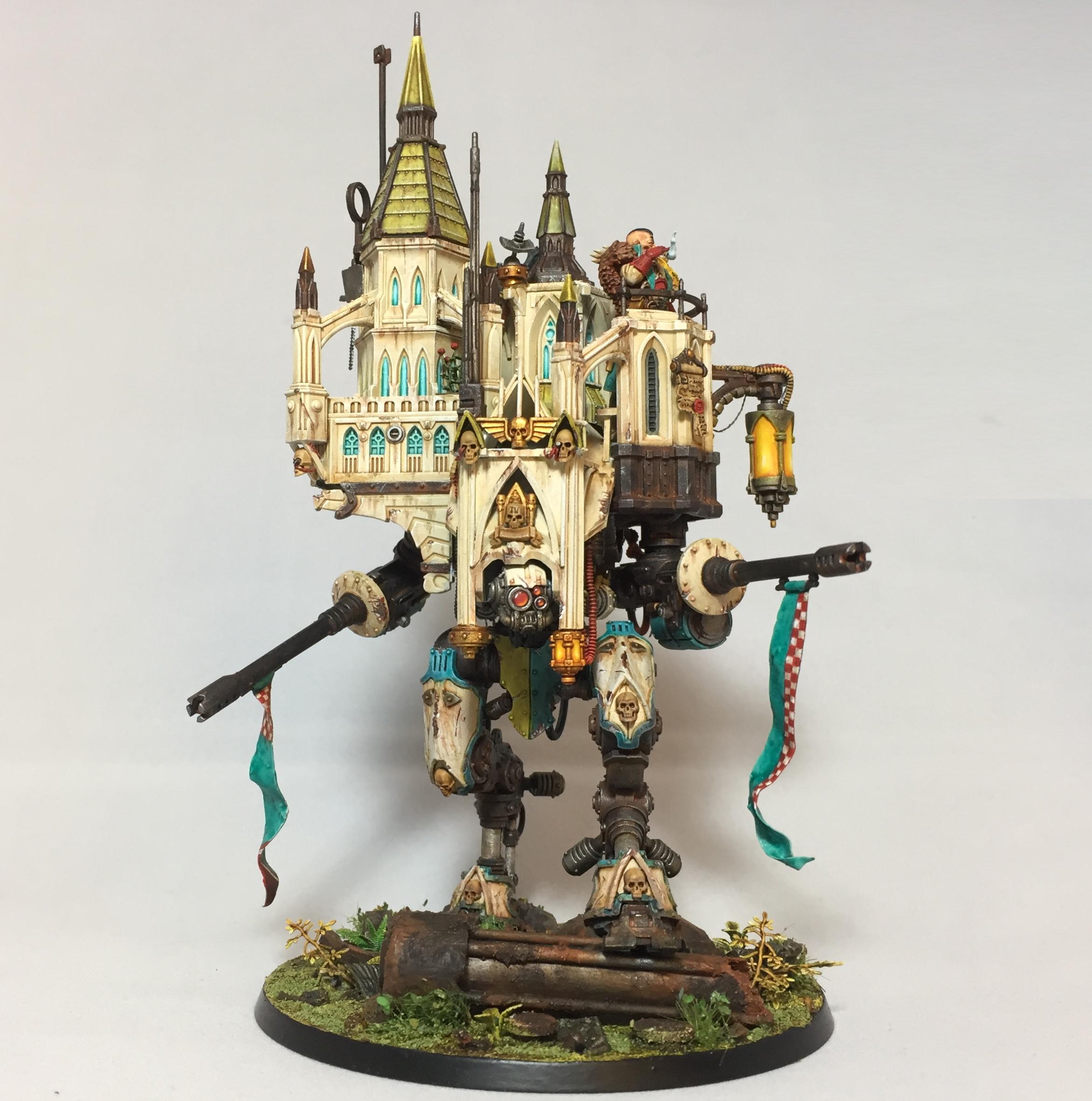 Rogue Trader on Armiger Helverin walking castle