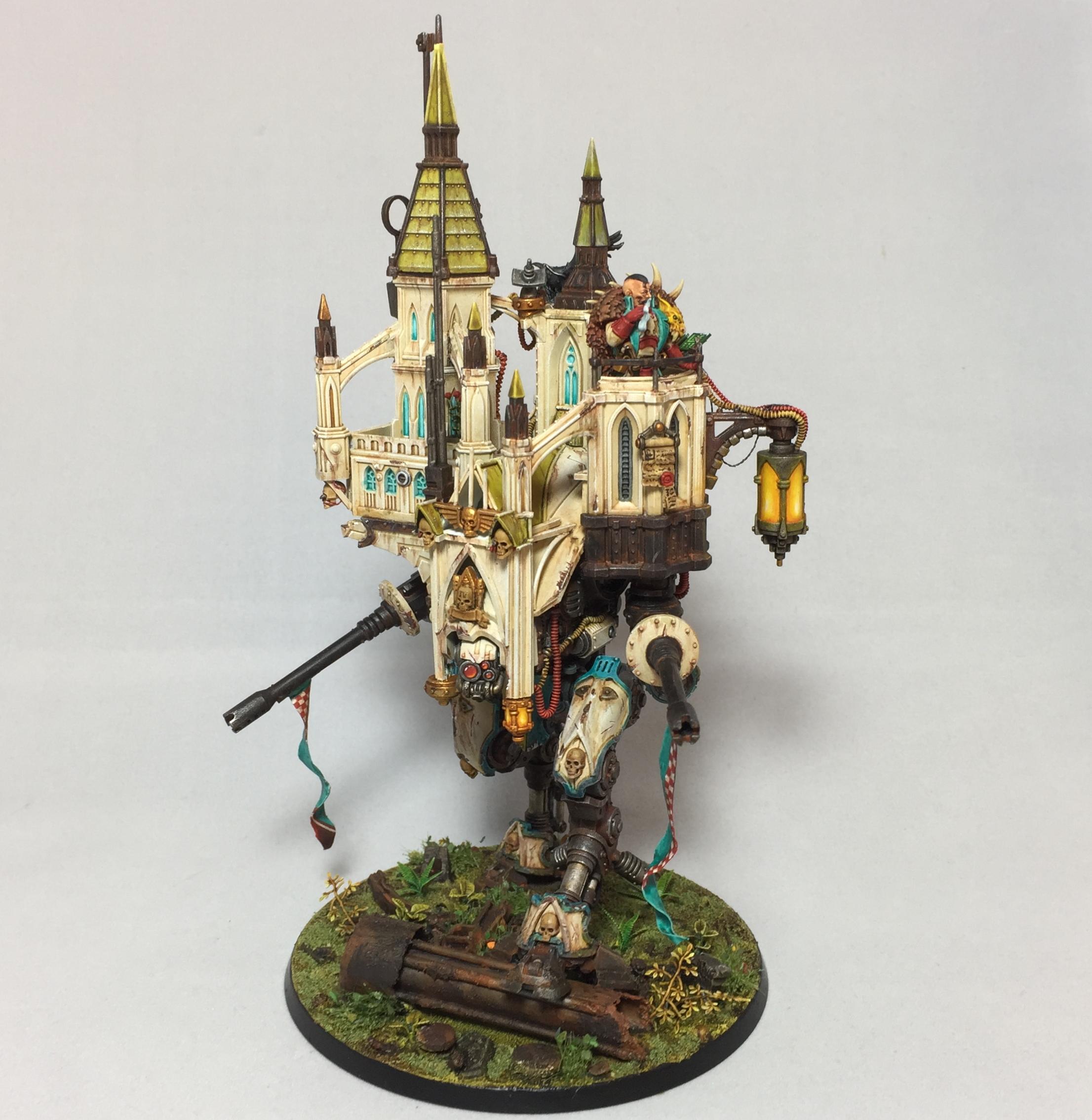 Armiger walking castle top
