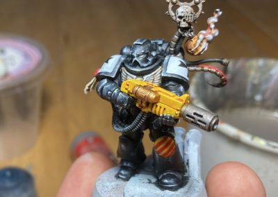 Mr Melta nearly painted