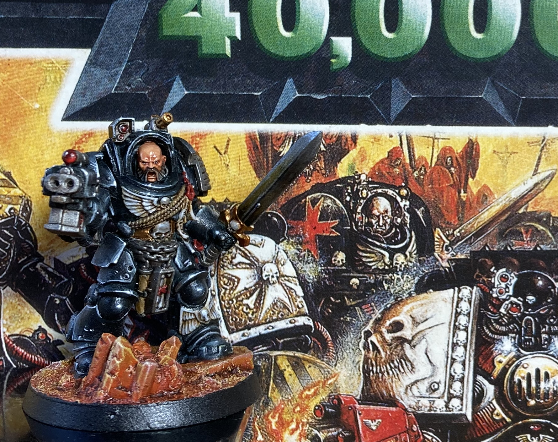 Terminator Knight compared to artwork