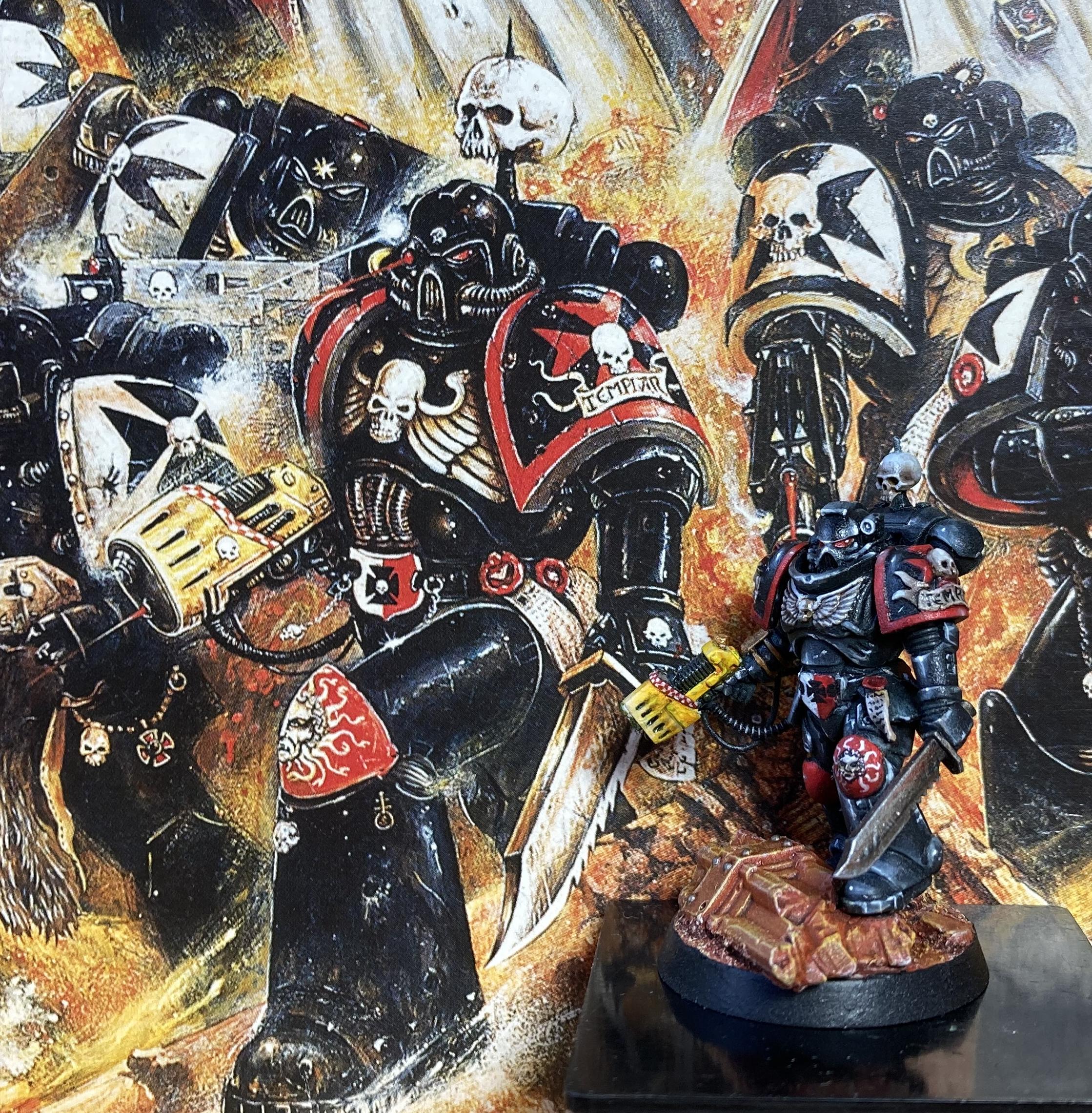 Veteran Sergeant compared to artwork
