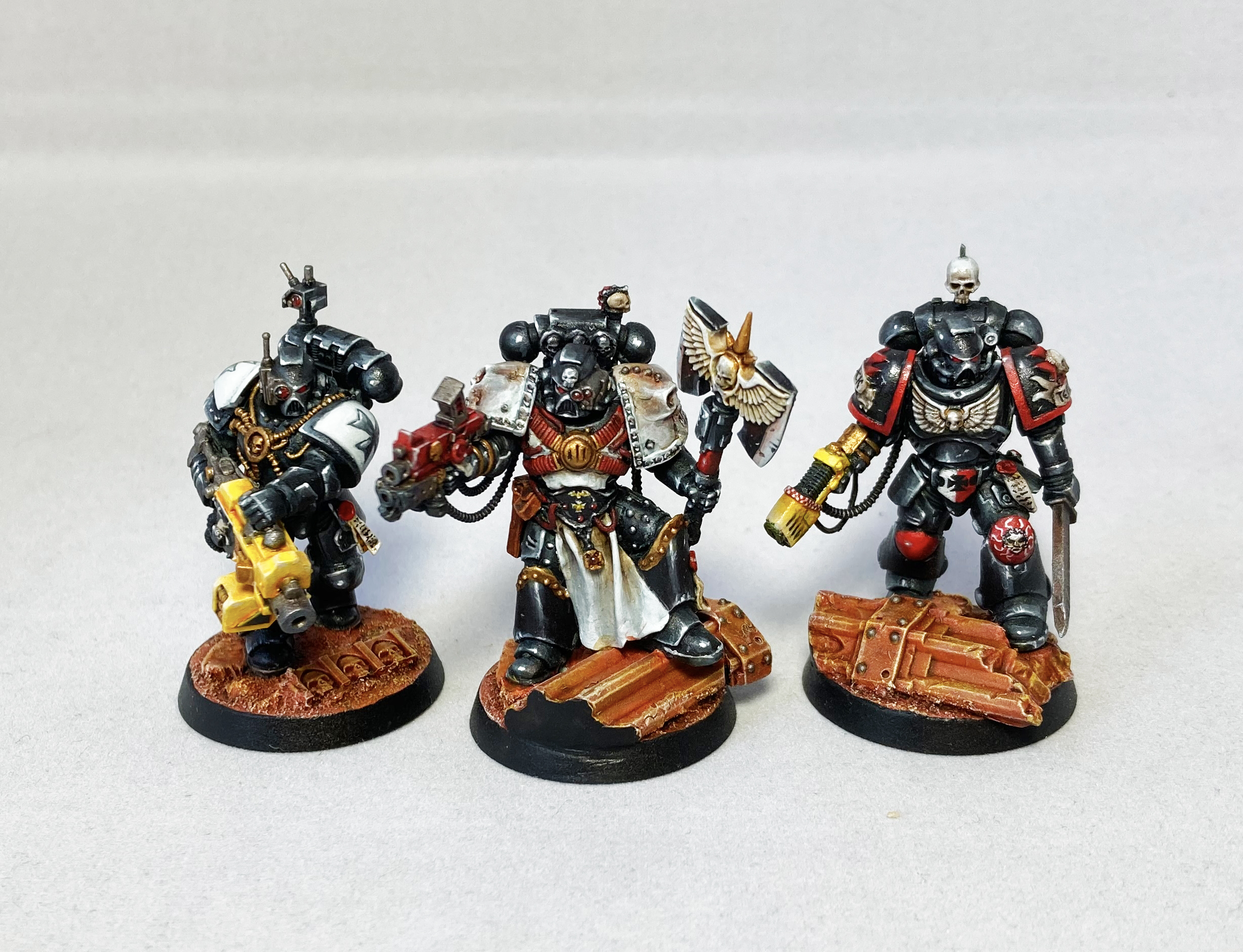 Blanchitsu Black Templars three