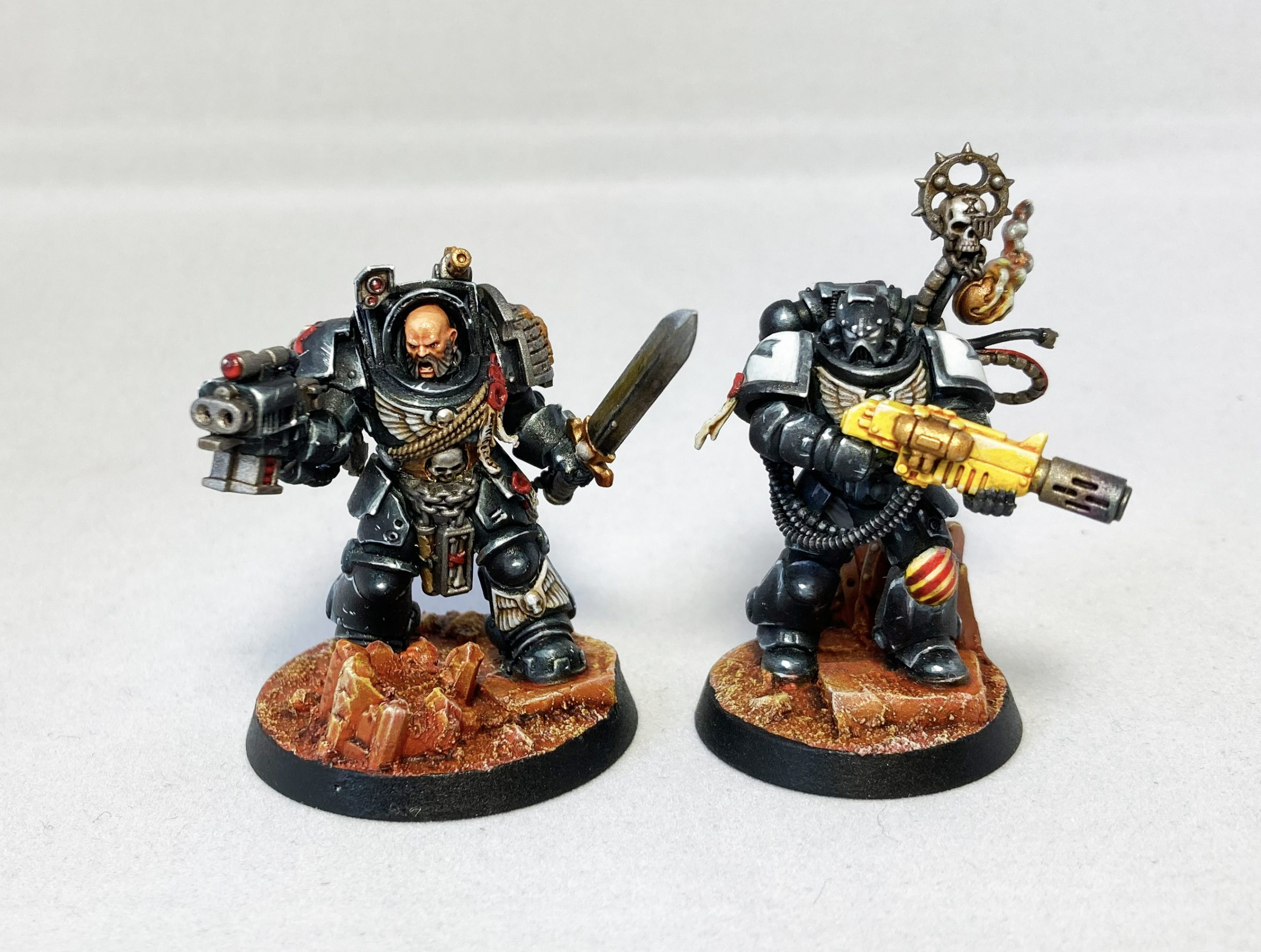 Blanchitsu Black Templars Terminator and Melta