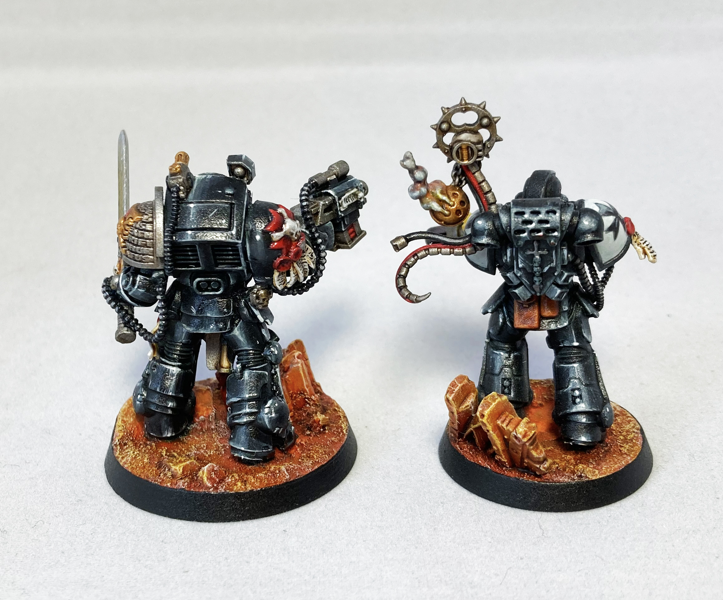 Blanchitsu Black Templars backsides