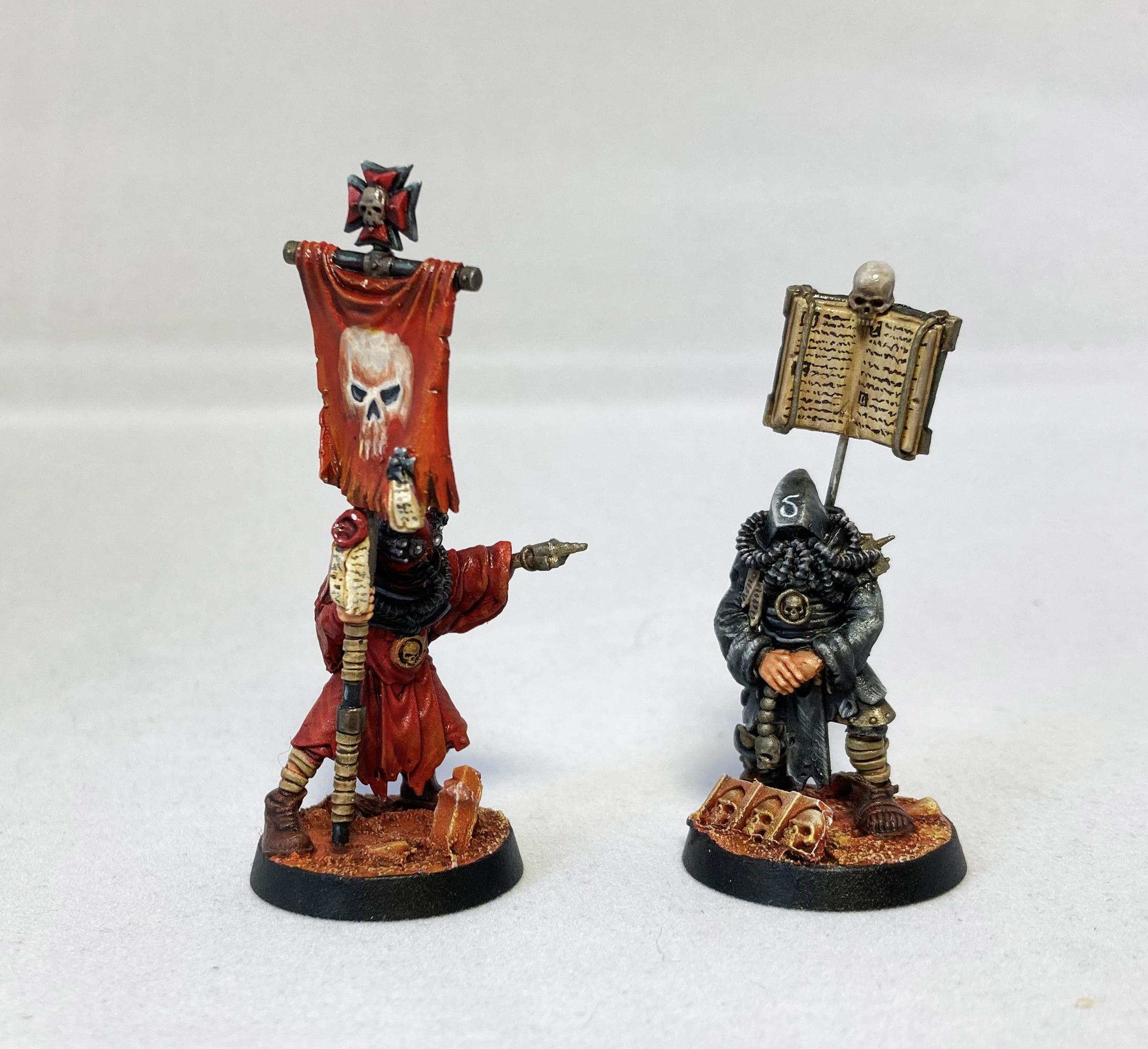 Blanchitsu Black Templars servitors / cenobytes
