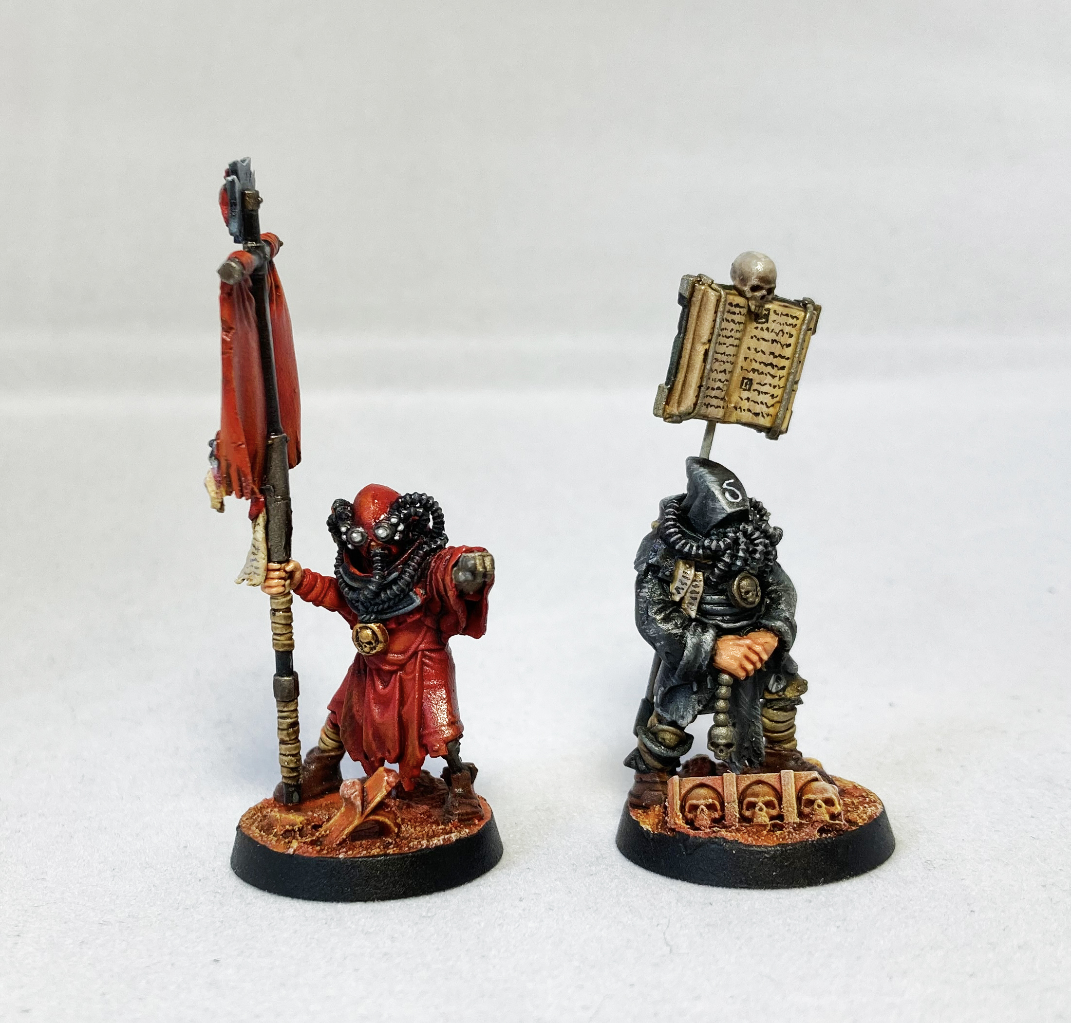 Blanchitsu Black Templars servitors
