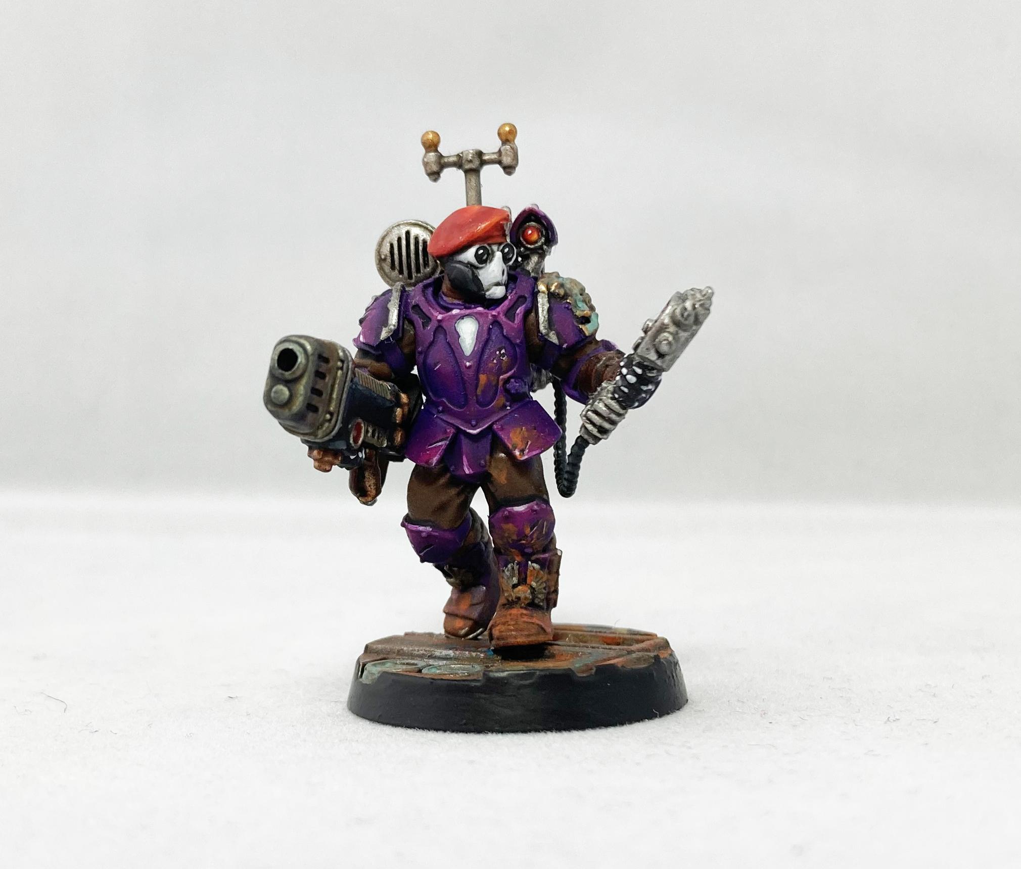 Tempestus Gunner