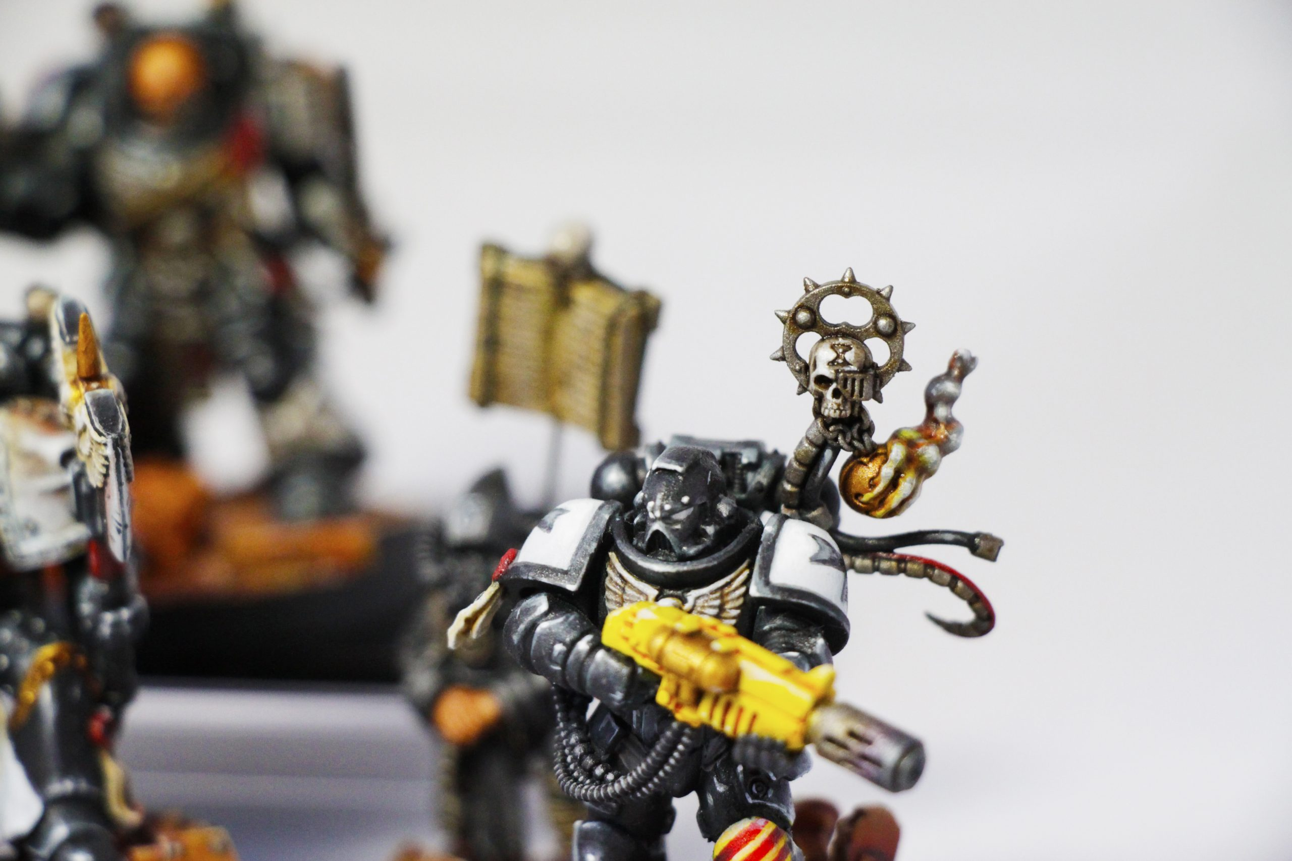 Blanchitsu Black Templars closeup