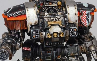 Iron Hands Morlocks, Executioner and Dreadnought